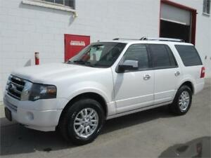 2012 Ford Expedition Limited~171,000km~2nd row buckets~$18,999