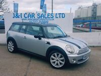 MINI CLUBMAN 1.6 COOPER 5d 118 BHP A LOW PRICE 5DR FAMILY HATCH (silver) 2008