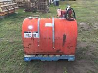 D shaped double lined fuel vault