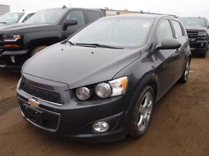 2016 Chevrolet Sonic LT, heated seats, rem. start, sunroof, allo