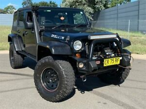 2010 Jeep Wrangler JK MY2010 Unlimited Sport Black 4 Speed Automatic Softtop Blacktown Blacktown Area Preview