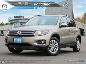 2015 Volkswagen Tiguan SPECIAL EDITION - CLEAN CARPROOF - HEATED