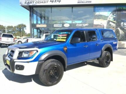 2010 Ford Ranger PK XL (4x4) Blue 5 Speed Automatic Dual Cab Pick-up Tuncurry Great Lakes Area Preview