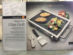 kuraidori Electric Stainless Steel Glass Grill