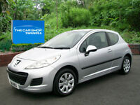 PEUGEOT 207 1.4 HDi S [AC] TWO LADY OWNERS �20 TAX (aluminium) 2011