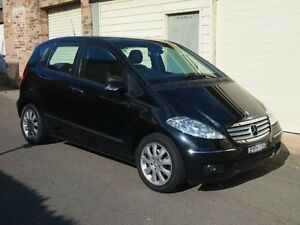 2007 Mercedes-Benz A200 W169 MY07 Elegance Cosmos Black CVT Auto 7 Speed Hatchback Petersham Marrickville Area Preview