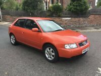 AUDI A3 1.6 SPORT 3DR Manual (red) 2000