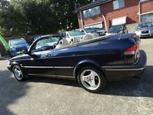 1997 Saab 900 S 2.3I Blue 4 Speed Automatic Convertible Sylvania Sutherland Area Preview