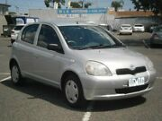 2002 Toyota Echo NCP10R Silver 4 Speed Automatic Hatchback Maidstone Maribyrnong Area Preview