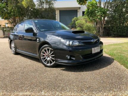 2010 Subaru Impreza G3 MY10 WRX Club Spec 10 AWD Black 5 Speed Manual Sedan Woodridge Logan Area Preview