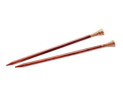 Lantern Moon ::Rosewood Single Point Needles:: 10.5 US 14 in 14' Rosewood Knitting Needles