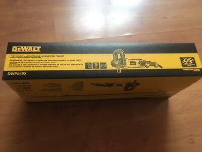 "Dewalt DWP849X 7""/9"" Right Angle Variable Speed Polisher Buffer Tool"