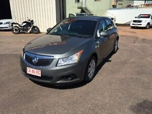 2012 Holden Cruze JH MY12 CD Grey 5 Speed Manual Hatchback Berrimah Darwin City Preview