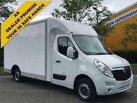 2011 61 Vauxhall Movano F3500 CDTi 125 L3 H1 Low Loader Luton (Air-Con) Fwd