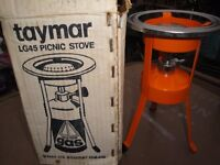 New Taymar Gas Picnic Stove