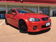2011 Holden Commodore VE II MY12 SV6 Red 6 Speed Sports Automatic Sedan Glendalough Stirling Area Preview