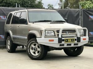 2001 Holden Jackaroo SE Beige Manual 5-Door Wagon Carrara Gold Coast City Preview