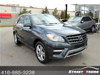 2012 Mercedes-Benz ML350 4MACTIC, AMG, NAVI, BACKUP CAM, NON-ACC