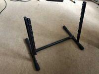 Proel 8U Rack Stand for Music Studio or Workstation