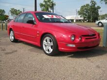 1999 Ford Falcon AU III XR8 Red 4 Speed Automatic + O/Drive Sedan Holtze Litchfield Area Preview