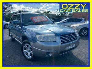 2007 Subaru Forester MY07 X Luxury Blue 5 Speed Manual Wagon Minto Campbelltown Area Preview