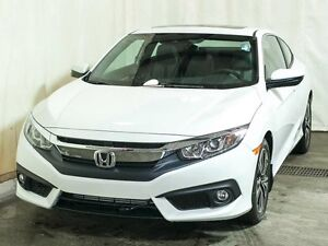 2017 Honda Civic EX-T HS Coupe CVT w/ Turbo, Bluetooth, Sunroof,