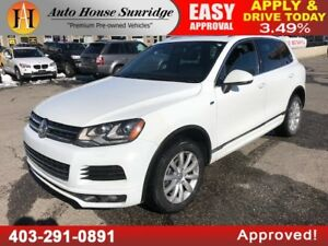 2014 Volkswagen Touareg Highline NAVIGATION BACKUP CAMERA