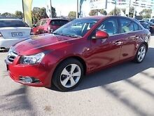 2010 Holden Cruze JG CDX Burgundy 6 Speed Automatic Sedan Gepps Cross Port Adelaide Area Preview