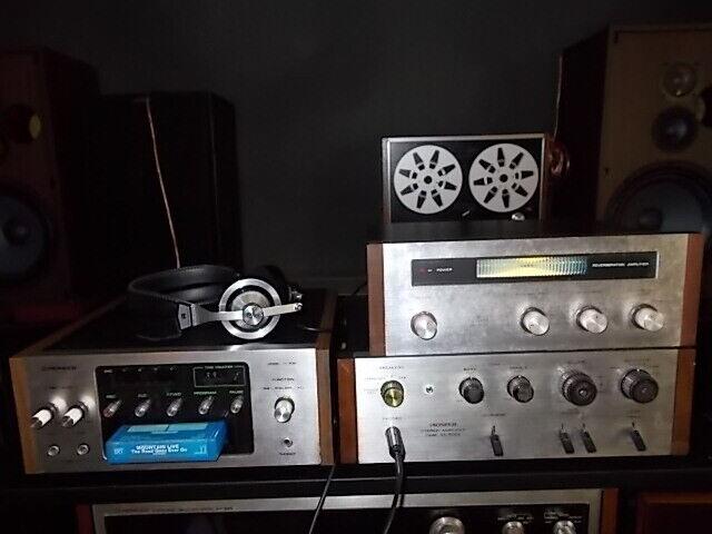 SET  PIONEER H-R99 .... vintage  8Spur cas. player mit SA-500A,SR-202,SE-L20A