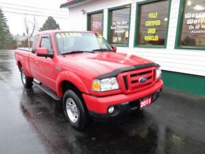 2011 Ford Ranger Extended Cab Sport Standard with A/C