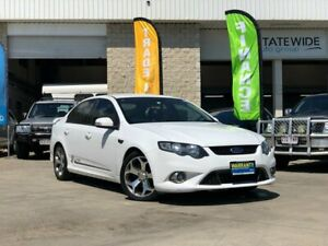2010 Ford Falcon FG XR6 50th Anniversary White 6 Speed Sports Automatic Sedan East Brisbane Brisbane South East Preview