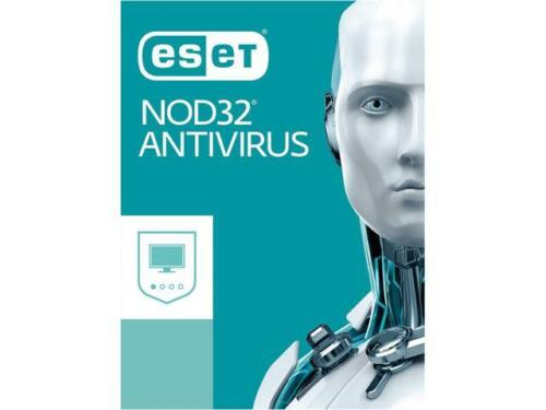 Eset Nod32 Antivirus 2018 - 3 Pcs, 1 Year