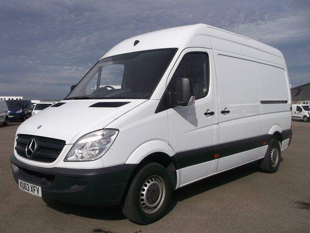 Mercedes-Benz Sprinter 313 CDI MWB 3.5T HIGH ROOF VAN DIESEL MANUAL (2013)