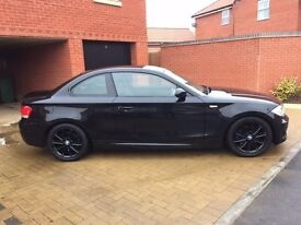 BMW 123D COUPE - M SPORT - BLACK