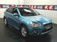 2011 Mitsubishi ASX XA Aspire (4WD) Kingfisher Blue 6 Speed Manual Wagon Cardiff Lake Macquarie Area Preview