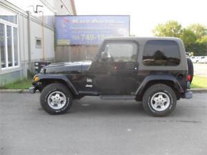 2003 Jeep TJ Sahara