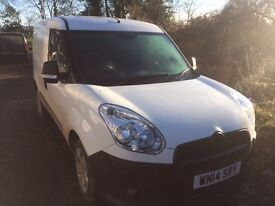 2014 White Fiat Doblo 16V Multijet Van. Very clean van inside and out.