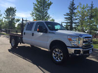 2013 Ford F-350 XLT with Flat Deck