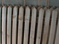 fence panels and post spikes