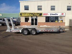 "NEW 2016 ALUMA 82"" x 18' HD ALUMINUM EQUIPMENT TRAILER"