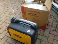 LONCIN LC2000i INVERTER SUITCASE GENERATOR---NEARLY NEW