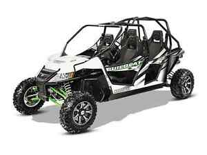 ARCTIC CAT WILDCAT 4 X WHITE METALLIC 2016