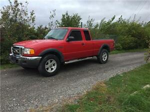 2004 FORD RANGER 4X4 110000KM EXTRA CLEAN E-TEST CERTIFIED