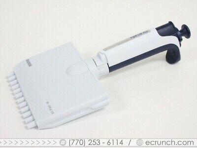 Rainin Xls Pipet-lite L12 X 200 Multichannel Pipette 12 Channel Lts - Calibrated