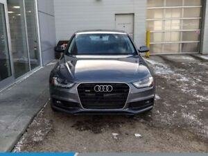 2015 Audi A4 Komfort plus AWD LEATHER SUNROOF GREAT CONDITION