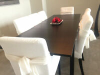 IKEA Dining Table set with 8 chairs $ 850 OBO