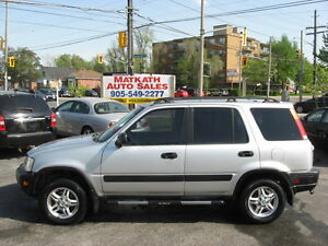 **1998 Honda CR-V  A.W.D Leather SUV**  Certified & E-tested