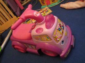 Fisher Price Lil Princess pink ride on car