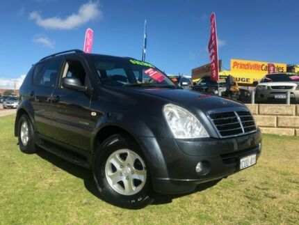 2008 Ssangyong Rexton Y220 II MY08 RX270 Grey 5 Speed Sports Automatic Wagon Wangara Wanneroo Area Preview