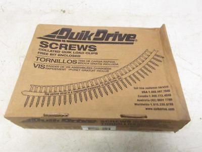 Qucik-drive Dwc114ps Collated Quick Load Drywall Screws 2500 Pack 6 X 1-14